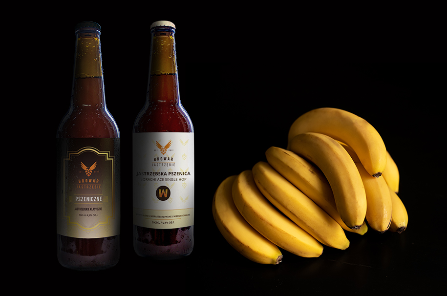 Skąd ten banan w piwie?